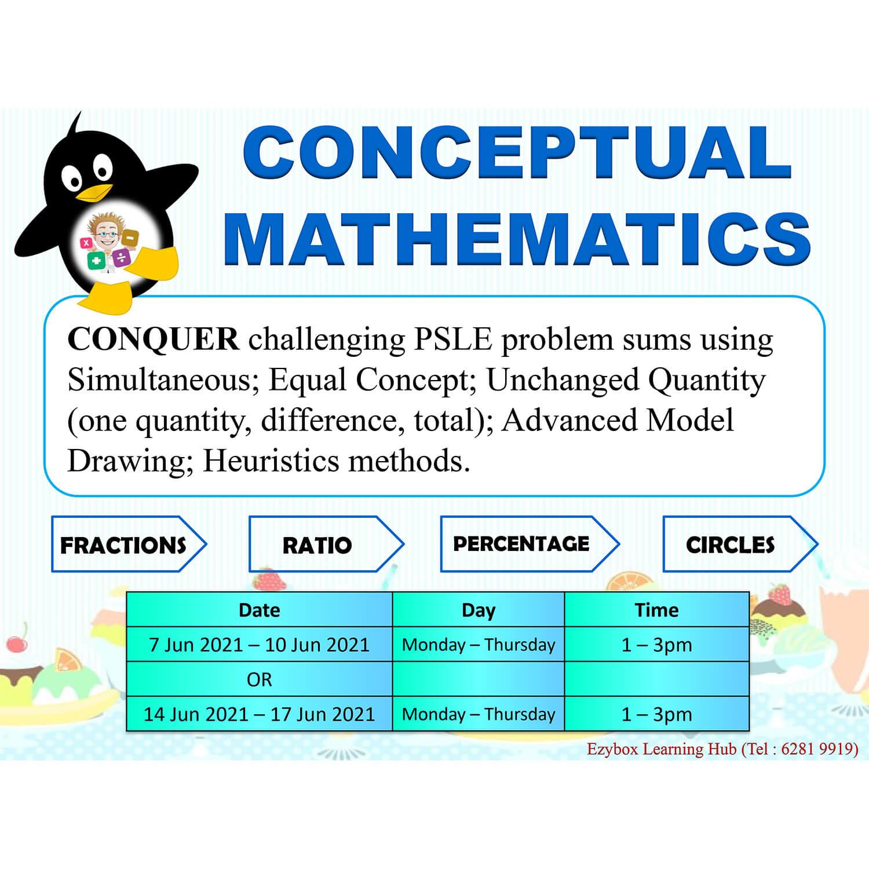 2021 June Holiday Programme Math